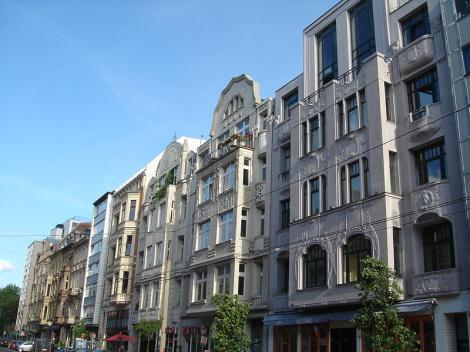 Aachener Straße - Foto: WP-User: Bordeaux - GNU-FDL / Zum Vergrößern auf das Bild klicken