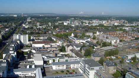Luftbild Braunsfeld - Urheber: Horsch - GNU-FDL / Zum Vergrößern auf das Bild klicken