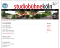 Screenshot Studiobühne Köln