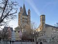 Kirche Groß St. Martin - Foto: Thomas Robbin - Lizenz: GNU-FDL / Zum Vergrößern auf das Bild klicken