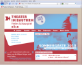 Screenshot Theater im Bauturm